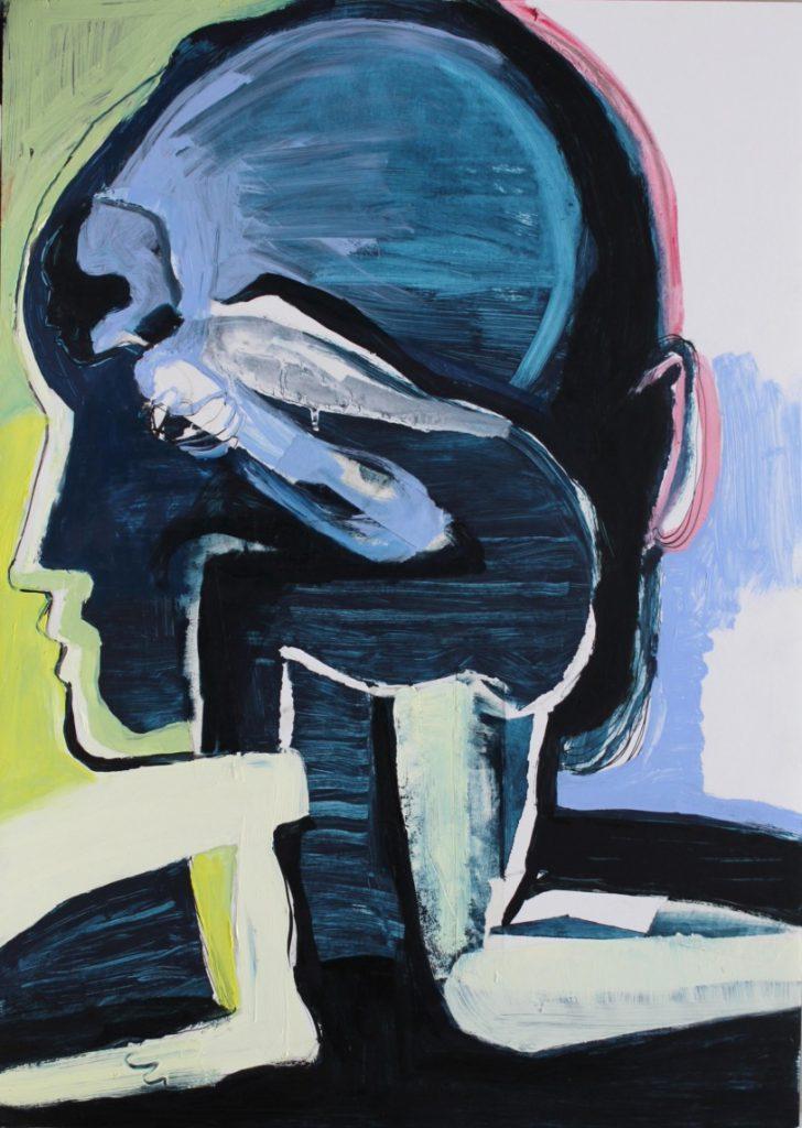Figure Head - Painting
